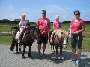 pony aan de hand